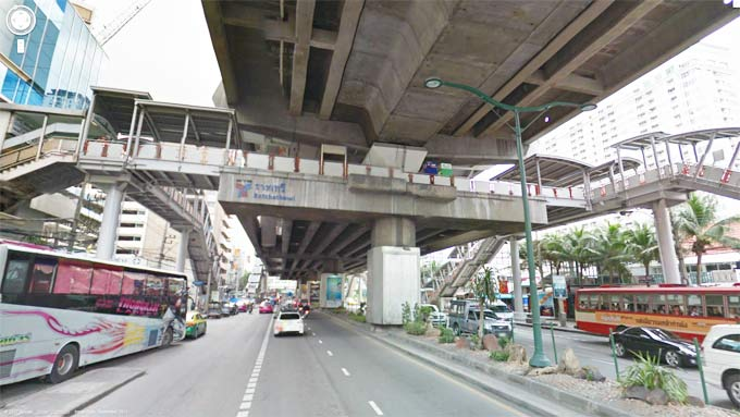 Ratchathewi BTS Station (Click to Enter Street View)