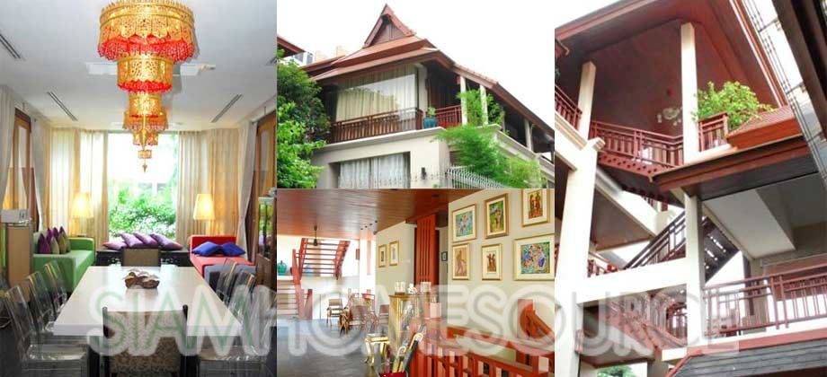Extremely Spacious 4-Story Thonglor Detached House