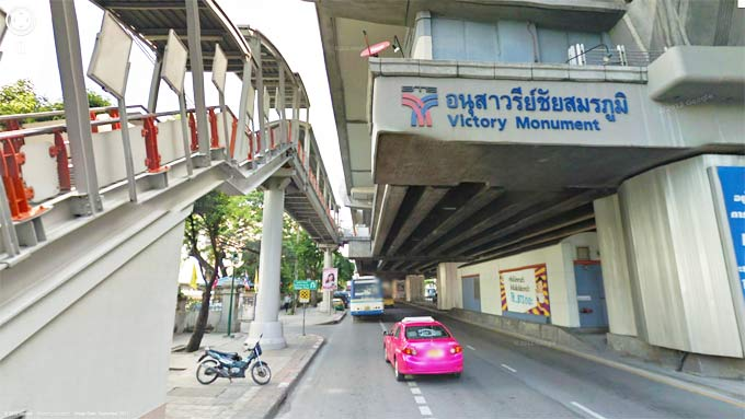 Victory Monument BTS Station (Click to Enter Street View)
